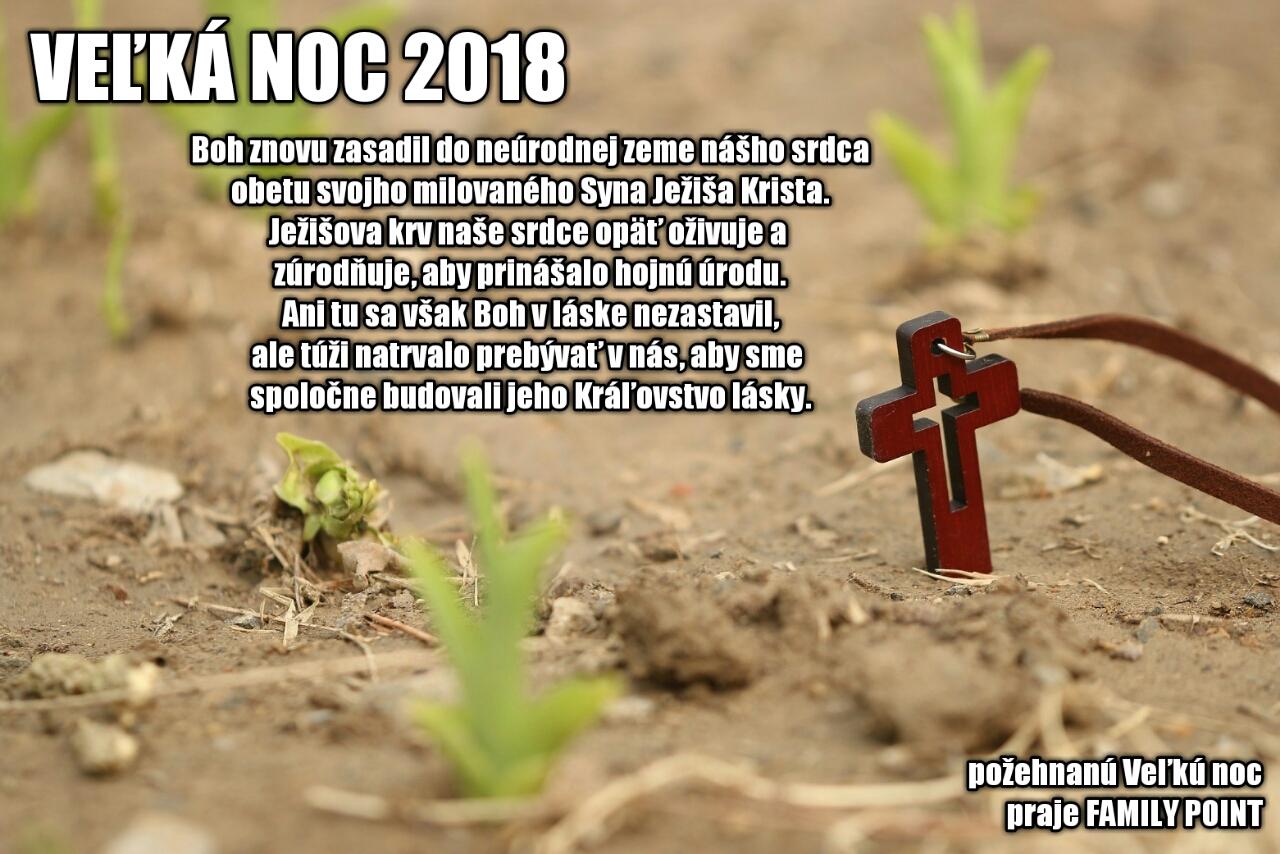Požehnanú VEĽKÚ NOC 2018